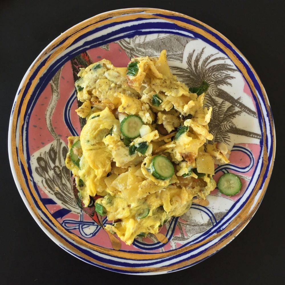 Eggs + New Potatoes + Zucchini